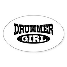 Drummer Girl Bumper Stickers