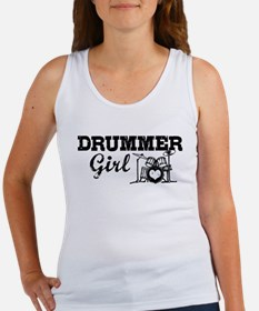Drummer Girl Women's Tank Top