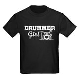 Drums Kids T-shirts (Dark)