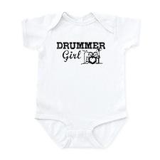 Drummer Girl Infant Bodysuit