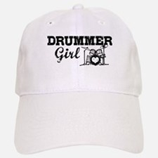 Drummer Girl Baseball Baseball Cap