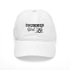 Drummer Girl Baseball Cap