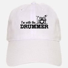 I'm With The Drummer Baseball Baseball Cap