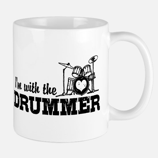 I'm With The Drummer Mug