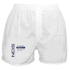 NCIS Gibbs' Rule #1 Boxer Shorts