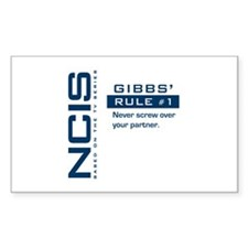 NCIS Gibbs' Rule #1 Decal
