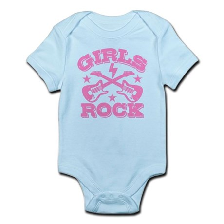 Girls Rock Infant Bodysuit