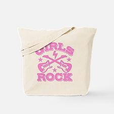Girls Rock Tote Bag