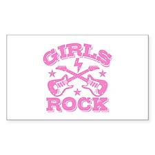 Girls Rock Decal