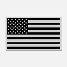 Subdued US Flag Tactical Car Magnet 20 x 12