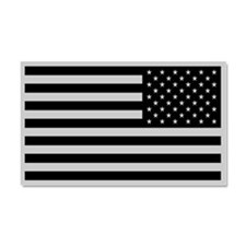 Subdued US Flag Tactical Car Magnet 20 x 12