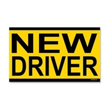 New Driver Car Magnet 20 x 12