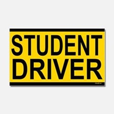 Student Driver Car Magnet 20 x 12