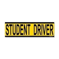 Student Driver Car Magnet 10 x 3