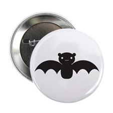 "Bat 2.25"" Button"