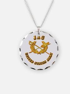 Army - JAG Necklace