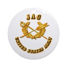 Army - JAG Ornament (Round)