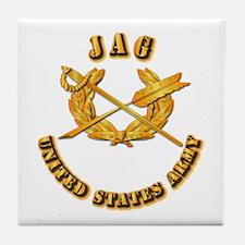 Army - JAG Tile Coaster