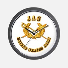 Army - JAG Wall Clock