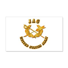 Army - JAG 22x14 Wall Peel