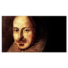 Shakespeare Portrait Wall Art Poster