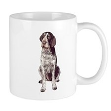 german wirehaired Pointer sit Mug