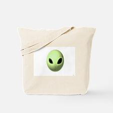 Jmcks Alien Head Tote Bag