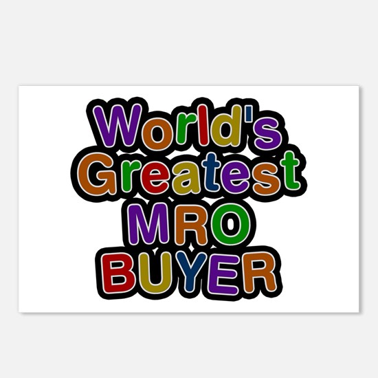 World's Greatest MRO BUYER Postcards 8 Pack