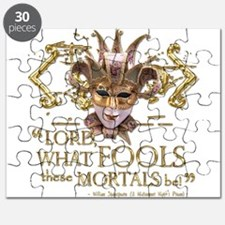 Shakespeare Fools Quote Puzzle