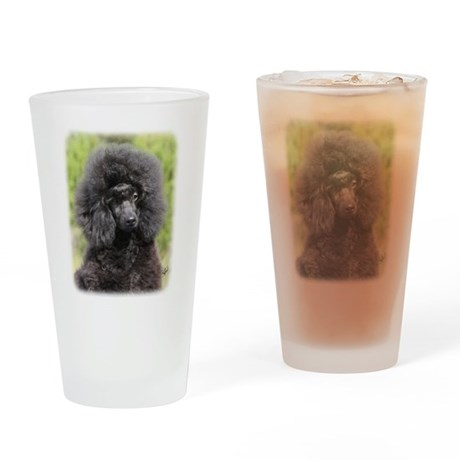 Poodle 9Y788D-043 Drinking Glass