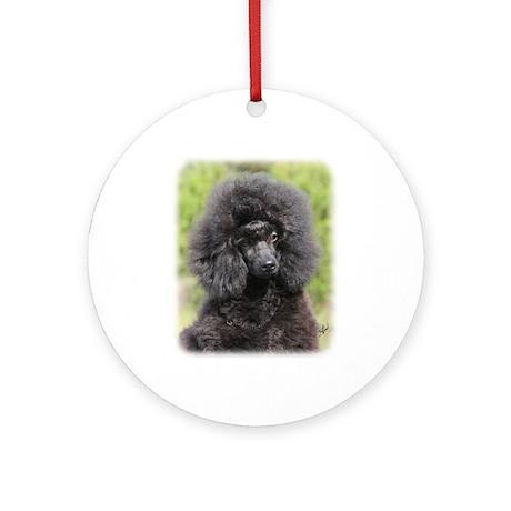 Poodle 9Y788D-043 Ornament (Round)