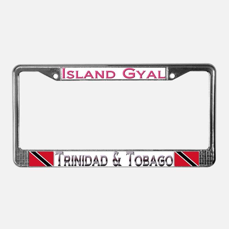 Island Gyal - Trini - License Plate Frame