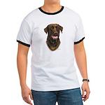 Chocolate Labrador Retriever Ringer T