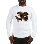 Chocolate Labrador Retriever Long Sleeve T-Shirt