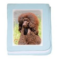 Poodle Standard 9R063D-099 baby blanket