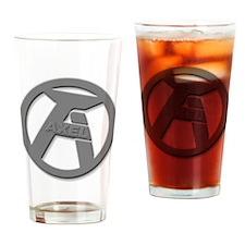 AXEL LOGO Drinking Glass