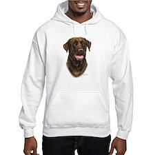 Chocolate Labrador Retriever Hoodie
