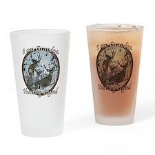 Grandpa hunting legend Drinking Glass