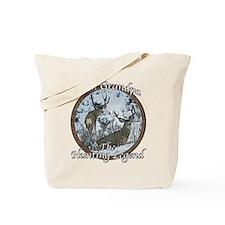 Grandpa hunting legend Tote Bag