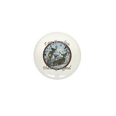 Grandpa hunting legend Mini Button (10 pack)