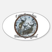 Grandpa hunting legend Decal