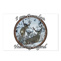 Grandpa hunting legend Postcards (Package of 8)