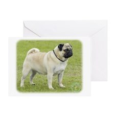 Pug 9R071D-168 Greeting Card