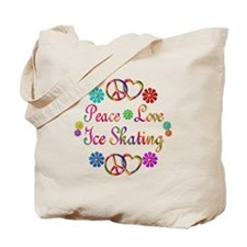 Love Ice Skating Tote Bag
