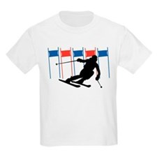 Ski Competition Kids T-Shirt
