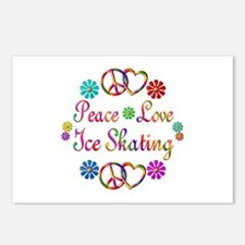Love Ice Skating Postcards (Package of 8)