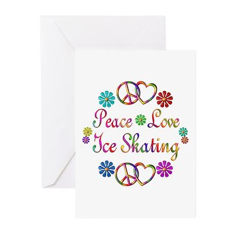 Love Ice Skating Greeting Cards (Pk of 20)