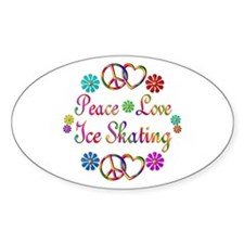 Love Ice Skating Decal