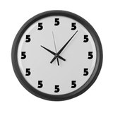 Five Giant Clocks
