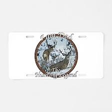 Dad hunting legend Aluminum License Plate